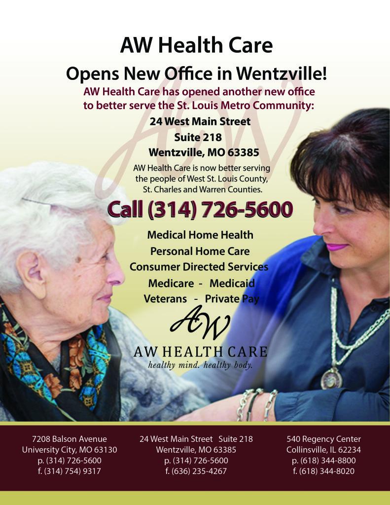Wentzville Announcement Flyer