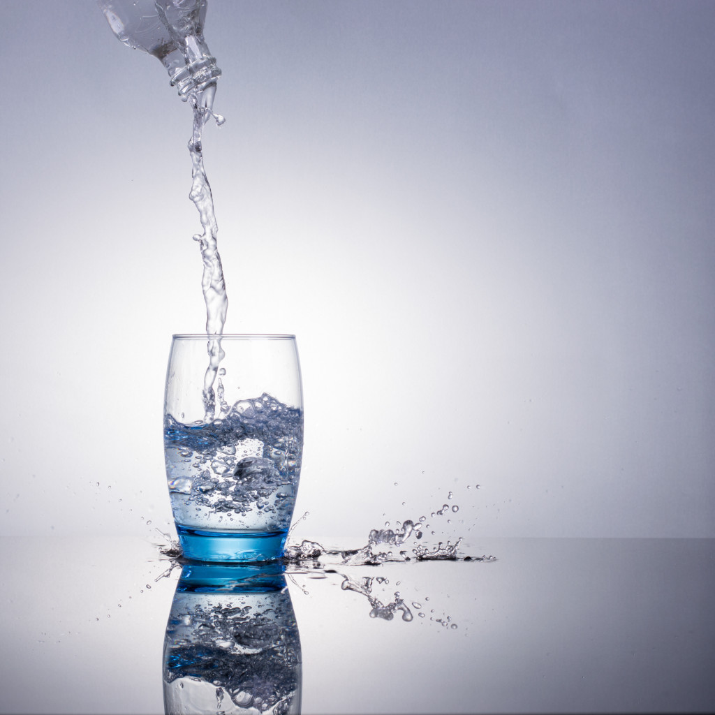 Drink several glasses of water daily to stay hydrated.