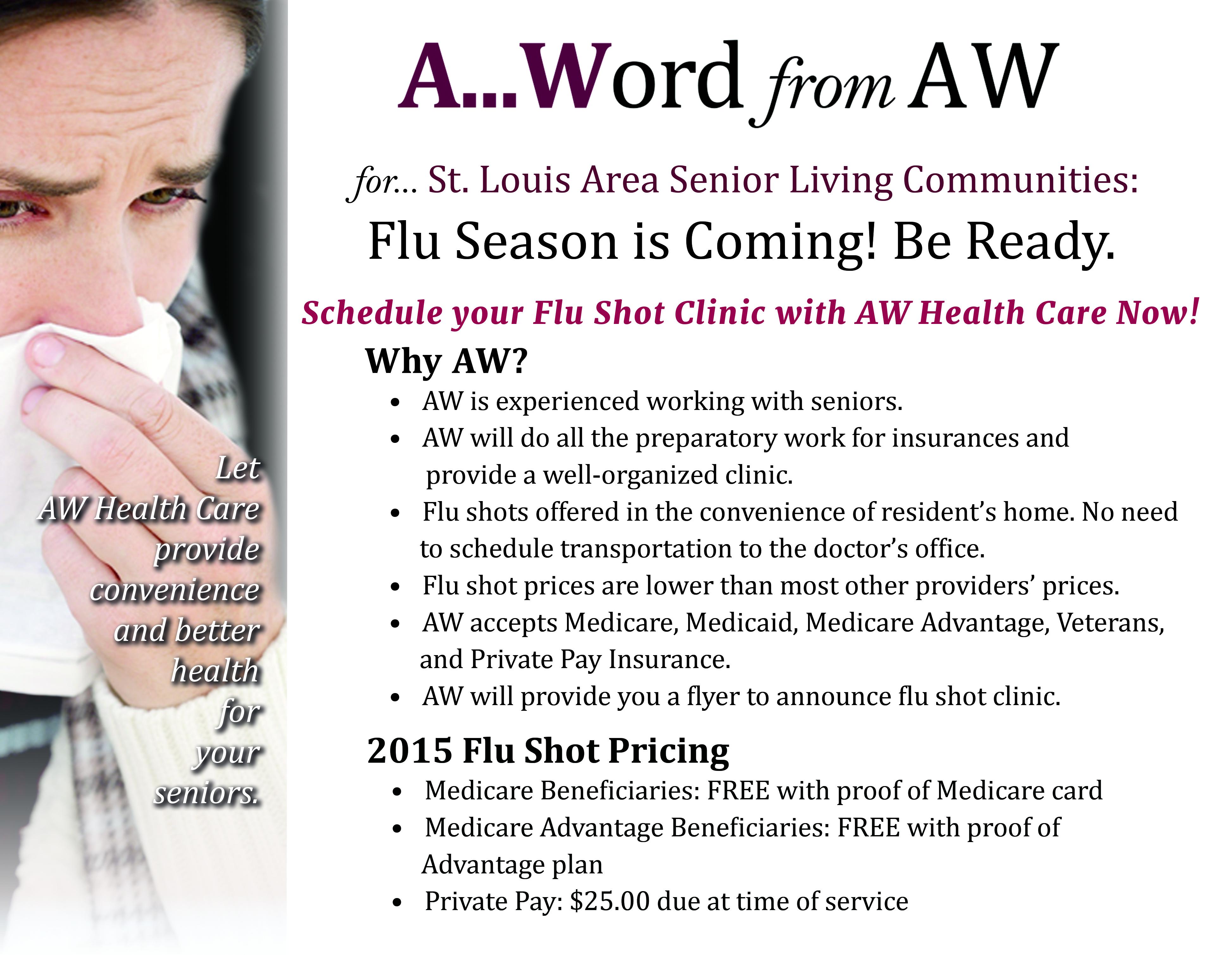 Flu season dates