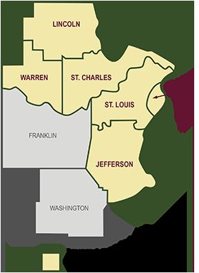 Service Area Map - Missouri