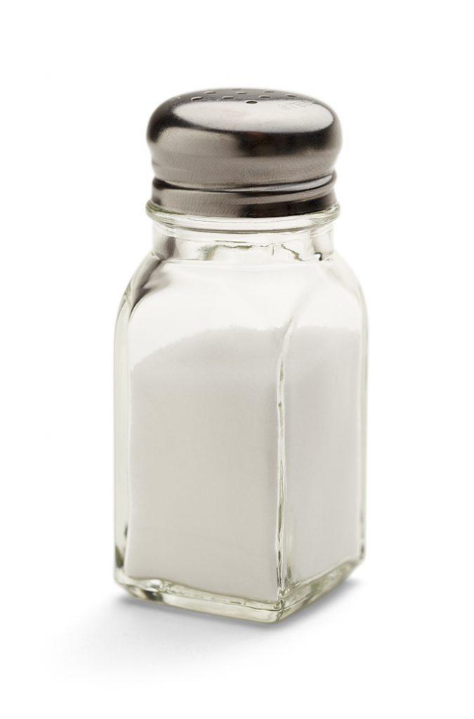 Side View of A Salt Shaker